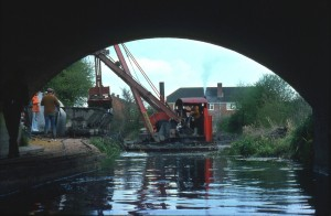 287. Perseverance. Railway. Swan Bridge. North Warnborough. 1976 REDUCED