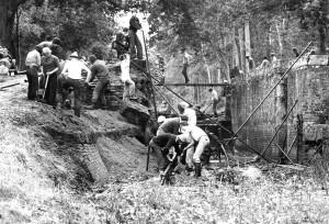 Deepcut Dig, 1977, Lock 16