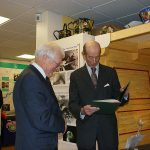Images From HRH The Duke Of Kent's Visit To Present The Queen's Award To The Basingstoke Canal Society