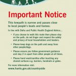 Coronavirus: Request From BCA To Limit Use Of Towpath